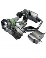 K12 Dimming Zoom Cree ZM-L T6 800-Lumen 3 Modes LED Headlamp(2x18650) - Middle Green