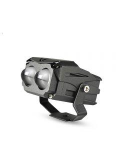 2pcs CNSUNNYLIGHT  DBCL LED Dual Lens Bi Color Projector Work Light Headlight Spot 12000Lm Hi/Lo White Yellow Fog DRLs For Jeep