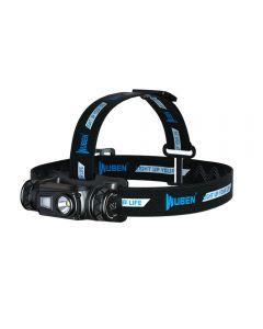 WUBEN H1 LED Headlamp USB Rechargeable Flashlight 1200 lumen 10 Modes IP68 Waterproof  for Outdoor Camping Running