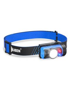 WUBEN H3 LED Headlamp 7 Working Modes 120 lumens Mini Headlamp waterproof 360 ° adjustable Light