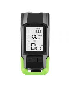 4 Modes USB Bike Light Horn Flashlight Speedometer LED Bike Front Light
