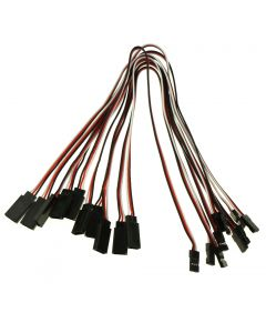 300mm 3-Pin Male To Female Remote Control  Servo Leads Connection Extension Cables