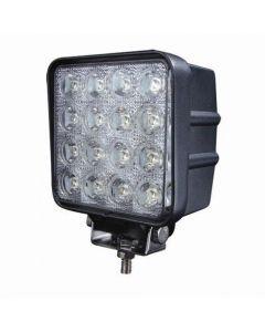 48W 12V 16PCS*3W LED Work Light Lamp Waterproof IP67 Flood Or Spot beam Jeep ATV Offroad LED Work light