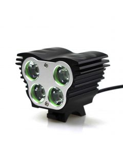 4*Cree XM-L U2 4-Mode 4500-Lumens Bicycle Light  Kit (4X 18650Battery  pack  include)