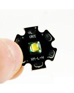 Cree XM-L U2-1C  7000K LED White Light Emitter with 20mm Base(3.7~4.2V)