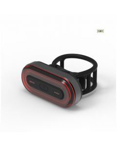USB rechargeable bicycle tail light bicycle LED tail light mountain bike road bike tail light