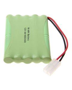 Ni-MH AA 12V 1800mAh Big White Plug Battery Pack-10 Pcs a Pack