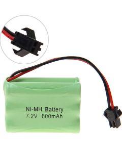 Ni-MH 3A 7.2V 800mAh SM Plug Battery Pack-6 Pcs a Pack