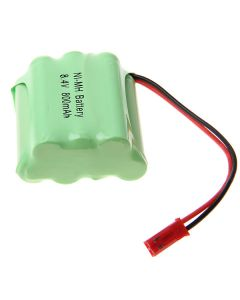 Ni-MH 3A 8.4V 800mAh Ladder-shaped Battery Pack with Red Plug-7 Pcs a Pack