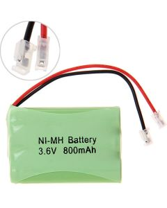 Ni-MH AAA 3.6V 800mAh Battery Pack for Cordless Phone-3 Pcs in One Raw