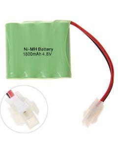 Ni-MH AA 4.8V 1800mAh 557 Plug Battery Pack-4 Pcs a Pack