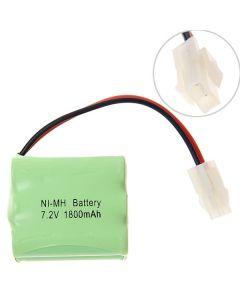 Ni-MH AA 7.2V 1800mAh 557 Plug Battery Pack-6 Pcs a Pack