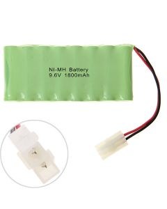 Ni-MH AA 9.6V 1800mAh Battery Pack-8 Pcs a Row