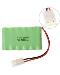 Ni-MH AA 7.2V 1800mAh Battery Pack(6 Pcs a Row)