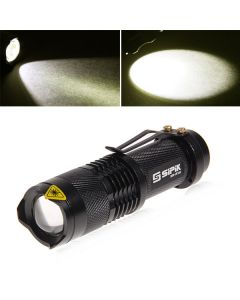 SK68-1 3W 1-Mode Small LED Torch (1*AA)