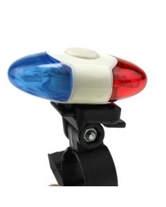 XI-908 4 Modes 4 LED Bicycle Rear Light Super Bright Safety Flash Light Lamp WIth Flexible Mount
