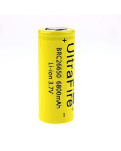 UltraFire BRC 26650 3.7V 6800mAh Unprotected Rechargeable Li-ion Battery