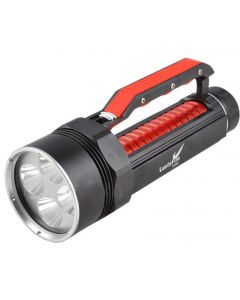 LusteFire DV400 4*Cree XM-L2 Max 4000 Lumens Dimming LED Diving Flashlight Handgrip-Red(2*26650)