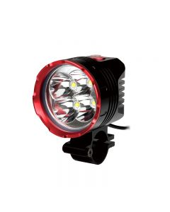 UniqueFire HD-015 Black Red Color 4*Cree XM-L2 3 Modes 4200 Lumens Bicycle light with 4*18650 waterproof batteries set