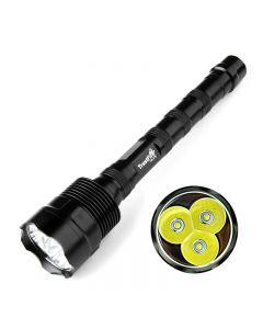 TrustFire Tr-3T6 Cree XM-L 3*T6 3800LM High Brightness Led Flashlight(3*18650)