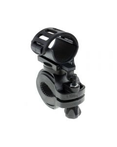 2PCS Adjustable Belt 360 Degree Rotatable bicycle clamp Flashlight LED Torch Light Holder Mount Bike Cycling Grip