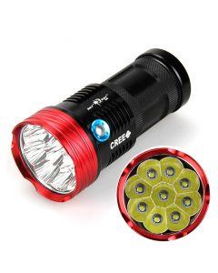 SkyRay S99 9T6/U2 9000-Lumen 9*Cree XM-L T6 U2 3-Mode LED Flashlight Torch(4*18650 Battery,not included)
