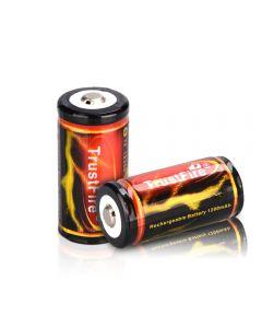 Trustfire 18350 3.7V 1200mAh Lithium li-ion Rechargeable Battery(2pcs)