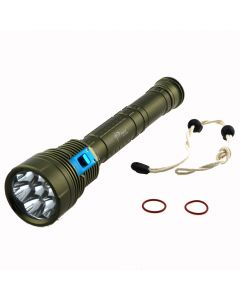 Sky Ray DX7 Plus 7*CREE XM-L2 4000LM LED Diving Flashlight Underwater Lamp Torch