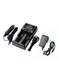 Original Soshine H2 Digcharger Battery Charger LCD Display Universal Charger With Car Charger