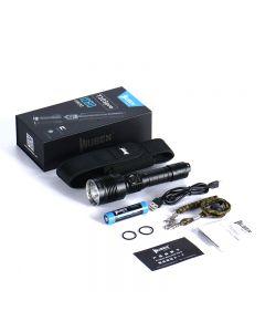 Wuben T103 Pro Cree XHP35 Hi led 1280-lumens TAC Flashlight kit