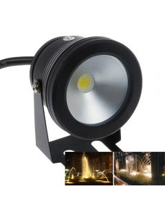 Led Underwater Light 10W 12v Waterproof IP67 Fountain Pool Lamp -Black