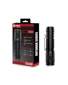 Wuben TO46R Max 1300 Lumens 3*CREE XP-G3 LED Mini EDC Flashlight
