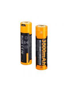 Fenix ARB-L18-3500U battery 3.6V 3500mAh USB rechargeable battery-1pc