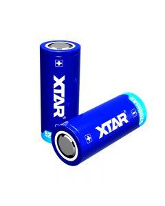Xtar 26650 3.7V 5200mAh 18.72Wh rechargeable Li-ion battery-1 pc