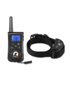 Black-Waterproof Remote Dog Training Shock Collar PaiPaitek PD520S-1