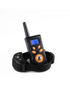 PaiPaitek 3 Modes Rechargeable Electrical Anti Bark Waterproof Remote Pet Training Tool 500M Dog Training Collar