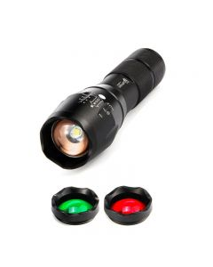 lighting portable light A100 LED Flashlight Torch search lantern 5 Modes Zoomable XML-T6