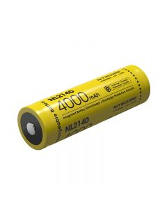 Nitecore 21700 Li-ion Rechargeable Battery NL2140 4000mAh 3.6v / 14.4Wh Battery