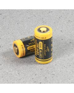 Skilhunt 16340 700mAh 3.6V Protected Battery BL-107 3.6V(1pc)