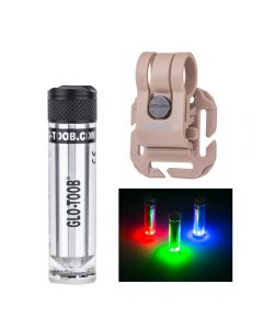 Glo-toob GT-AAA Aurora RGB 3 color light 7 modes Underwater 200M Warning Signal Diving External Flashlight Lamp