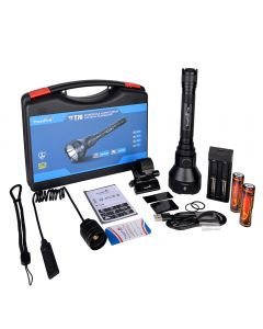 Trustfire T70 Kit Hunting LED Flashlight Powerful 1000 Meters 2300LM High Power Rechargeable Led Flashlight