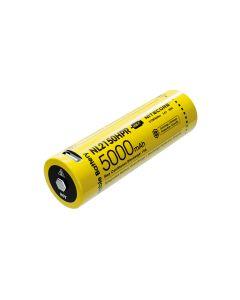 Nitecore 3.6V 18Wh NL2150HPR High Drain Li-ion USB-C Rechargeable 21700 Battery