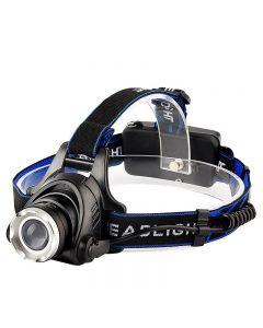 T6 zoom headlight outdoor charging telescopic focusing