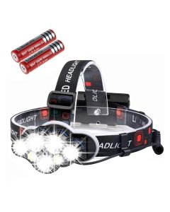 4000LM 7 LED headlamp front flashlight USB rechargeable waterproof flashlight