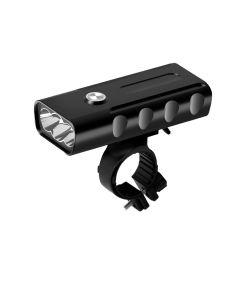 2400 lumens 3 LED bike light L2/T6 flashlight USB rechargeable 360 degree rotation Bike Light