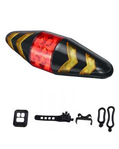 Outdoor bicycle taillight turn signal with wireless remote control bicycle accessories