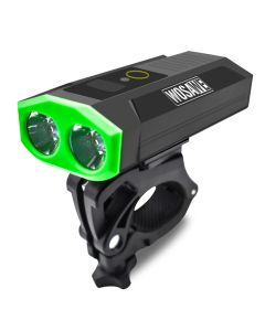 WOSAWE bicycle light strong light double head USB built-in battery mobile power type car light