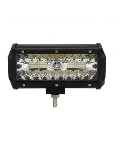 120W 7 Inch Combo Led Light Bars Spot Flood Beam for Work Driving Offroad Boat Car Tractor Truck