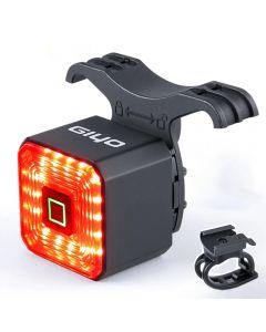 GIYO Dual Bracket Smart Bicycle Light Rear Taillight Bike Accessories  Stop Signal Brake Lamp LED Safety Lantern