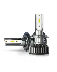 2Pcs Mini CSP H4 H7 LED Car Headlight Bulb 20000LM 3000K 4300K 6000K 8000K Turbo Lamps
